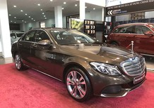 Bán xe Mercedes C250, đăng ký 2018, màu nâu như xe mới, giá chỉ 1tỷ 635 tr