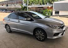 Xe Honda City 1.5 sản xuất 2017, màu bạc số tự động, giá tốt
