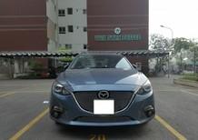Bán Mazda 3 1.5 AT sản xuất năm 2016, màu xanh lam, giá chỉ 608 triệu