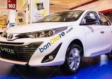 Bán ô tô Toyota Vios 1.5G CVT năm sản xuất 2018, màu trắng, 606 triệu