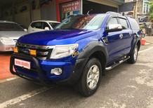 Cần bán gấp Ford Ranger XLT 2.2 MT 4X4 sản xuất năm 2013, màu xanh lam, nhập khẩu, giá chỉ 535 triệu
