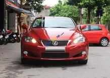 Bán Lexus IS 250C năm sản xuất 2009, màu đỏ