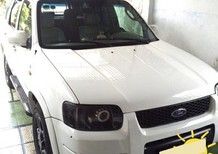 Chính chủ bán xe Ford Escape 2006 màu trắng, tự động gầm cao