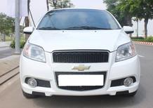 Cần tiền bán Aveo 2014 LTZ ĐK 2015, số tự động, màu trắng tinh cực đẹp