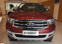 Bán Ford Everest Ford Everest 2018 2.0 Bi-Turbo năm 2018, màu đỏ giá tốt