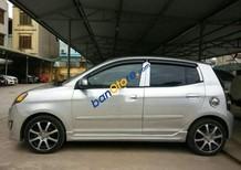 Bán xe Kia Morning MT sản xuất năm 2012, màu bạc số sàn