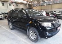 Bán xe Toyota Fortuner 2.7V sản xuất 2013, màu đen số tự động