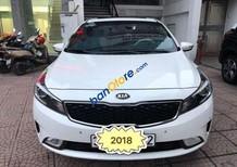 Cần bán gấp Kia Cerato sản xuất 2018, màu trắng, xe nhập