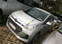 Bán Hyundai Grand i10 năm sản xuất 2017, màu bạc, giá tốt