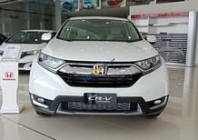 Bán xe Honda CR V 1.5 Turbo E năm sản xuất 2018, màu trắng, nhập khẩu