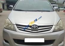 Cần bán gấp Toyota Innova MT G năm sản xuất 2009, màu bạc, 415 triệu