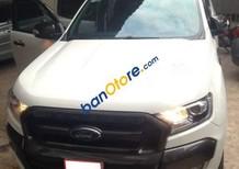 Cần bán lại xe Ford Ranger 2016, màu trắng, chạy rất êm