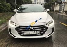 Cần bán lại xe cũ Hyundai Elantra GLS 1.6AT sản xuất 2017, màu trắng