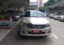 Bán xe bán tải Hilux E 2012, màu bạc, nhập khẩu