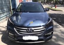 Bán xe Hyundai Santa Fe sản xuất 2017, màu xanh lam chính chủ