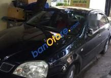 Bán xe Daewoo Lacetti năm 2004, màu đen, giá tốt