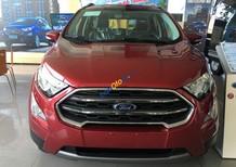 Bán xe Ford EcoSport năm sản xuất 2018, màu đỏ, giá cạnh tranh