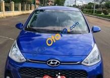Cần bán Hyundai Grand i10 1.2AT năm sản xuất 2018, màu xanh lam giá cạnh tranh