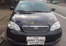 Cần bán lại xe Toyota Corolla altis 1.8 sản xuất năm 2004, màu đen, giá chỉ 375 triệu