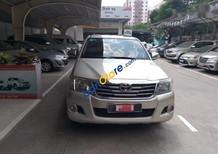 Xe Toyota Hilux E năm sản xuất 2012, màu vàng bán rẻ