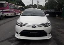 Cần bán lại xe Toyota Vios TRD Sportivo 2018, màu trắng
