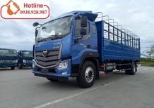 Bán xe tải Thaco Auman C160.E4 tải trọng 9 tấn thùng mui bạt đời 2018