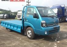 Bán ô tô Thaco Frontier K250 thùng lửng 2018, 2,4 tấn vào thành phố, trả góp 80%, liên hệ 0914159099