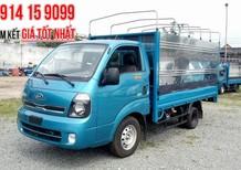 Cần bán xe Thaco Frontier K200 mui bạt 2018 1490kg, trả góp 80%, liên hệ 0914159099