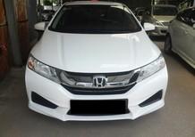Bán ô tô Honda City G năm 2015, màu trắng số sàn, giá 443tr