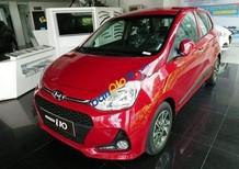 Bán xe Hyundai Grand i10 sản xuất 2018, màu đỏ