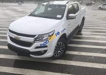 Bán ô tô Chevrolet Colorado 2.5 năm sản xuất 2018, màu trắng, nhập khẩu, 651tr