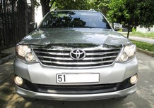 Cần bán xe Toyota Fortuner AT 2014, màu bạc
