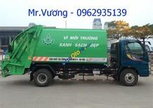 Bán xe ép rác Thaco Ollin 700B, 9 khối