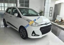 Bán Hyundai Grand i10 1.2MT sản xuất 2018, màu trắng, giá 374tr