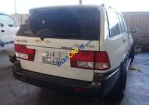 Cần bán gấp Ssangyong Musso năm sản xuất 2005, màu trắng, xe nhập
