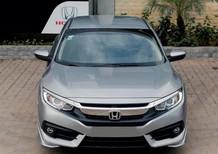 Bán Honda Civic 1.8E 2018, màu Bạc, giao ngay, trả trước 230 triệu. Hotline Honda ô tô quận 7: 0934.017.271
