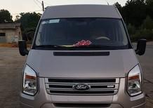 Cần bán Ford Transit đời 2016 bản LX, màu bạc còn mới toanh