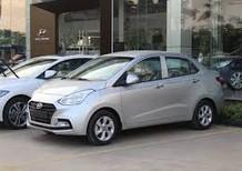 Bán xe hơi Hyundai Grand i10 2018, màu bạc, giá chỉ 350 triệu
