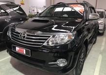 Bán Toyota Fortuner sản xuất 2016, màu đen số sàn giá cạnh tranh