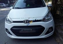 Cần bán xe Hyundai Grand i10 MT sản xuất 2017, màu trắng, xe nhập, giá 335tr