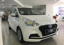 Hyundai Grand I10 Sedan 1.2 MT màu trắng, xe giao ngay và luôn