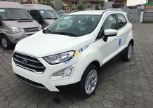 Cần bán xe Ford EcoSport Titanium 1.0L AT sản xuất 2018, màu trắng giá cạnh tranh