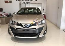 Bán xe Toyota Vios 1.5E năm 2018, màu nâu, giá tốt