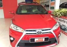 Cần bán Toyota Yaris G sản xuất năm 2017, màu đỏ, nhập khẩu nguyên chiếc, 670tr