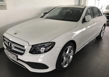 Bán xe Mercedes E250 trắng cũ - lướt 8/2018 chính hãng