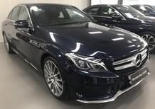 Bán xe Mercedes C300 xanh đen cũ - lướt 7/2018 chính hãng