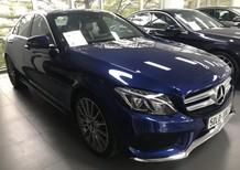 Bán xe Mercedes C300 xanh cũ - lướt 8/2018 chính hãng