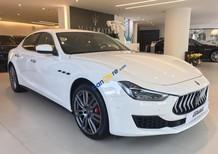 Bán ô tô Maserati Ghibli sản xuất 2018, màu trắng, nhập khẩu nguyên chiếc