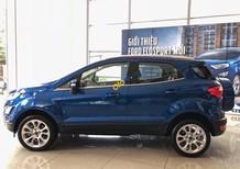 Cần bán Ford EcoSport 1.0L I3 Ecoboost Titanium năm 2018, màu xanh