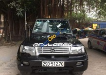 Bán ô tô Hyundai Galloper sản xuất năm 2002, màu đen, nhập khẩu nguyên chiếc chính chủ
